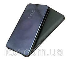 Зеркальный чехол-книжка CLEAR VIEW с функцией подставки для Samsung Note 8 (SM-N950F) Черный