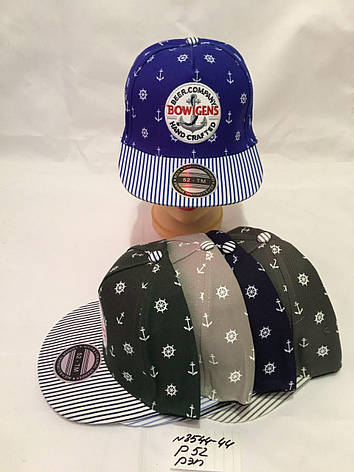Детская красивая кепка-рэперка для мальчика р.52, фото 2