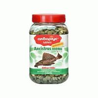 Корм риб Акваріус меню для Анциструсов-таблетки 300 г