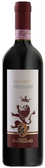 Вино Кьянти (Chianti) «Poggio Gherardo 2016» 0.75л