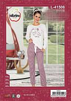 Пижама женская(кофта+брюки)
