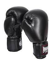 Боксерские перчатки PowerPlay 14 OZ Черный