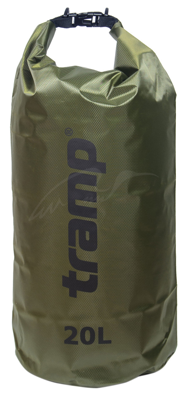 Гермомешок Tramp TRA-113-olive PVC Diamond 20 l ц:oliveГермомешок Tramp TRA-113-olive PVC Diamond 20 l ц:olive