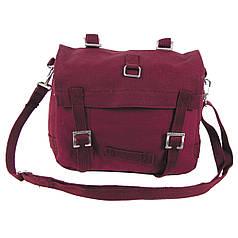 Боевая сумка BW, маленькая, бордовая 30103D