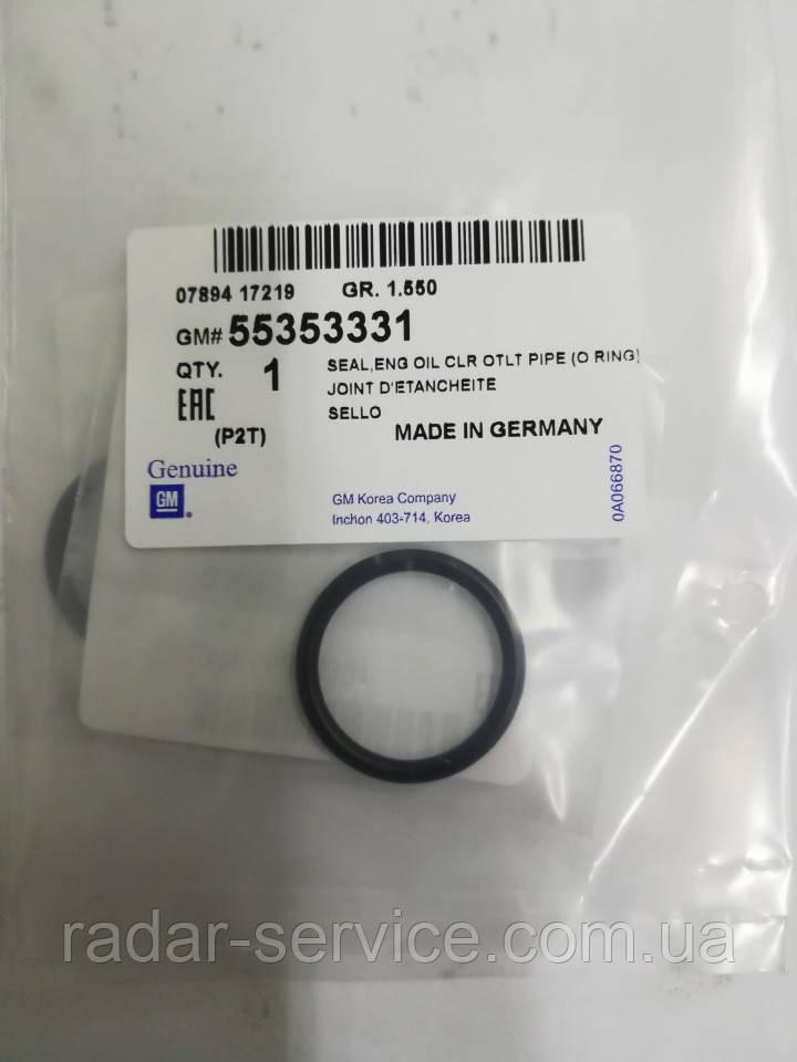 Уплотнитель теплообменник маслоохладитель 23.9мм, 55353331, GM