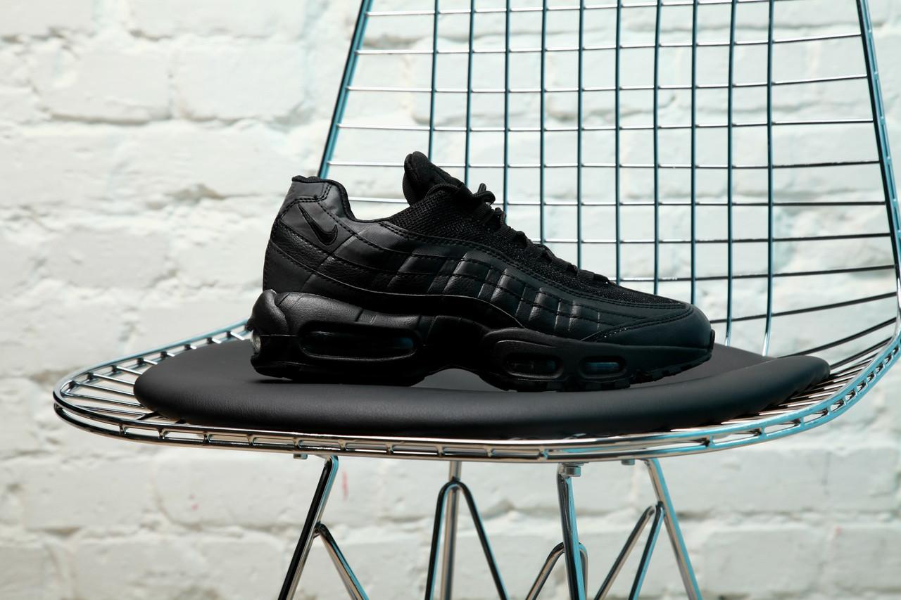 "Кроссовки Nike Air Max 95 ""All Black"""