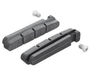 Гумки гальмівних колодок Shimano R55C для обода з керамічним покриттям, фото 2