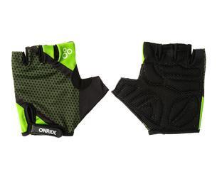 Рукавички ONRIDE TID зелений/чорний S