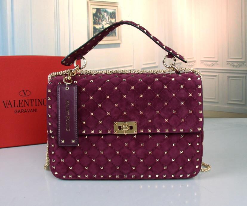 Замшевая сумка от Valentino