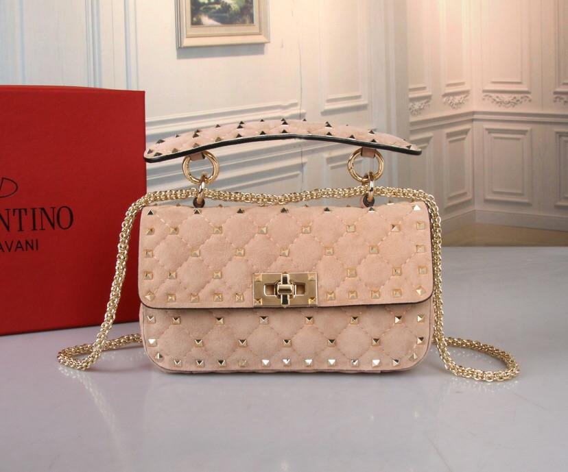 Женская сумка Valentino замшевая