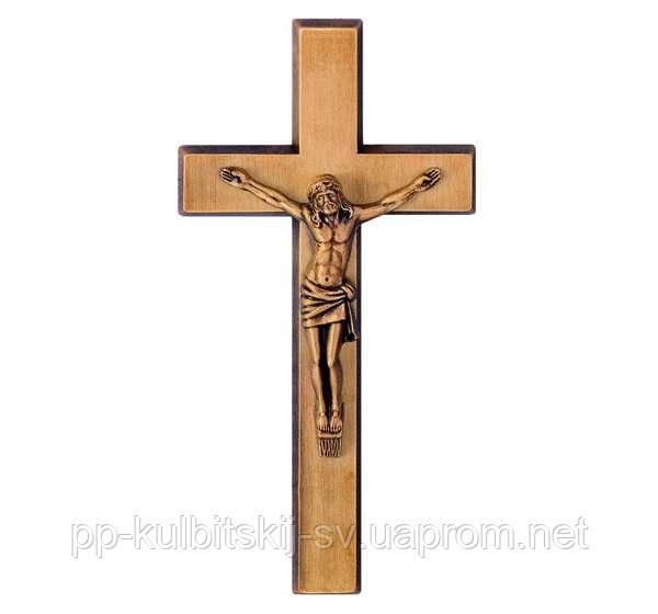 Бронзовий хрест Jorda 2411