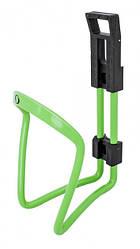 Флягодержатель велосипедный Simpla Alu Star, зеленый