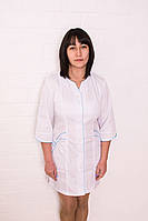 Медицинский женский халат батист 40-60р. Хелслайф, фото 1