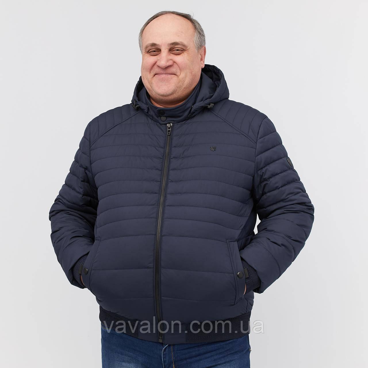 Куртка демисезонная под резинку Vavalon KD-B193 navy