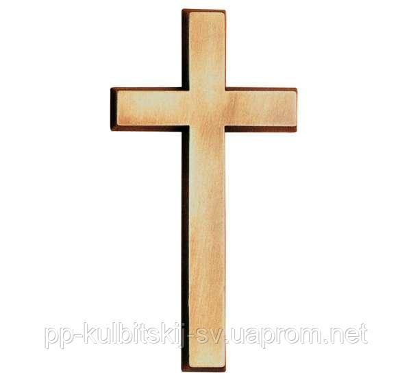 Хрест бронзовий для памятника одинарного Jorda 2410