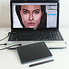 Графический планшет Huion Inspiroy H430P проводной. Планшет для рисования и ретуши, фото 3