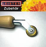 Прикаточный ролик(валик) латунный для труднодоступных мест Leister (Швейцария), фото 3