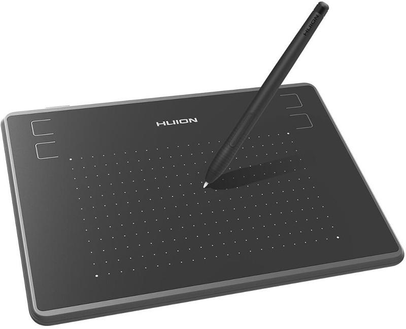 Графический планшет Huion Inspiroy H430P проводной. Планшет для рисования и ретуши
