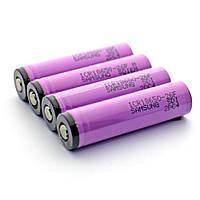 Аккумулятор 18650 Li-Ion Samsung, 2800mAh 3.7V, сиреневый