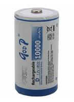 Аккумулятор GODP R20/1B 1.2V 10000 mAh NiMH Rechargeable Battery, 1 шт.a в блистере, цена за блистер