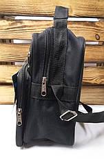 """Вместительная мужская сумка из прочного, износостойкого материала ТМ """"Wallaby"""", фото 2"""