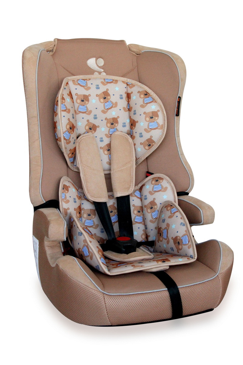Автокресло  EXPLORER 9-36 KG Beige Cute Bears