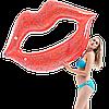 Надувной матрас Modarina Блестящие Губы 110 см Красный NW3000
