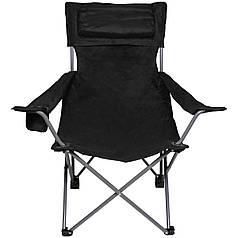 Кресло раскладное, спинка и подлокотник, чёрное 31881A