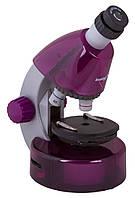 Микроскоп LEVENHUK LabZZ M101 фиолетовый, фото 1