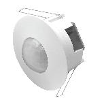 Датчик движения «Точка XL», 360°, расстояние макс. 6м, IP20, макс. нагрузка 1200Вт