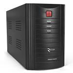 ИБП Ritar RTM1000 (600W) Proxima-L, LED, AVR, 3st, 3xSCHUKO socket, 2x12V7Ah, metal Case