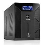 ИБП Ritar RTM3000 (1800W) Proxima-D, AVR, 3st, 3xSCHUKO socket, 4x12V9Ah, metal Case