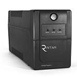 ИБП Ritar RTP600 (360W) Proxima-L, LED, AVR, 2st, 2xSCHUKO socket, 1x12V7Ah, plastik Case