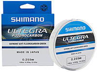 Флюорокарбон Shimano Ultegra Fluorocarbon 100m 0.145mm 1.75kg ц:greenФлюорокарбон Shimano Ultegra Fluorocarbon 100m 0.145mm 1.75kg ц:green