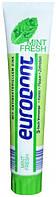 Зубная паста EURODONT освежающая мята Объем 125 мл( Германия)