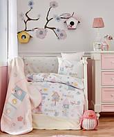Детский плед в кроватку Karaca Home - Happy 2018 100*120