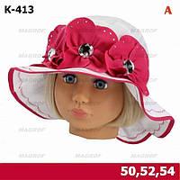 """Польская летняя шляпка """"Ядвига"""" - К-413"""