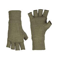 Перчатки беспалые вязаные Thinsulate, олива 12540001