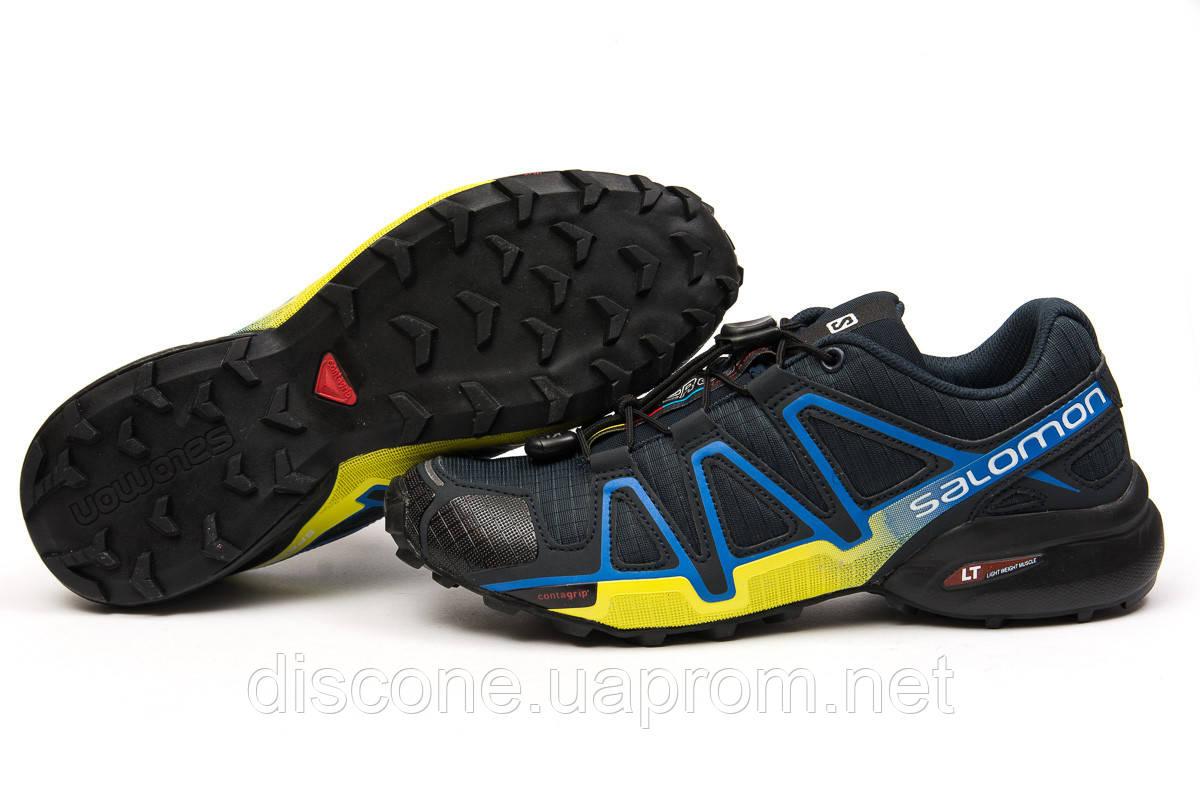 Кроссовки мужские 14962 ► Salomon Speedcross 4, темно-синие ✅Скидка % ► [ нет в наличии ]