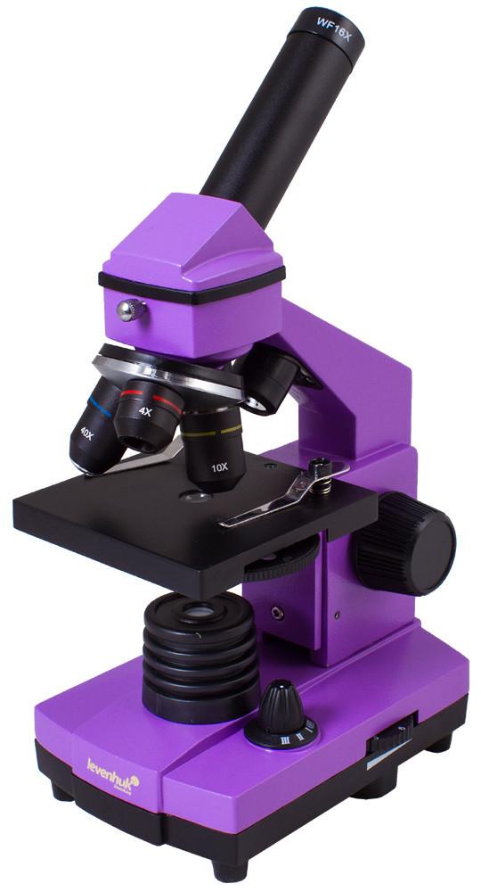 Микроскоп LEVENHUK Rainbow 2L PLUS фиолетовый