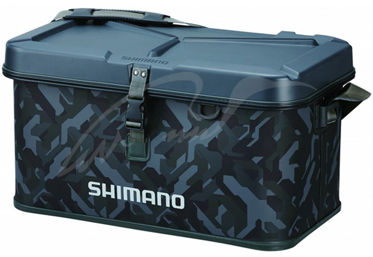 Сумка Shimano Hard EVA Tackle Boat Bag 22L 30x38x32cm ц:wave camouСумка Shimano Hard EVA Tackle Boat Bag 22L 30x38x32cm ц:wave camou