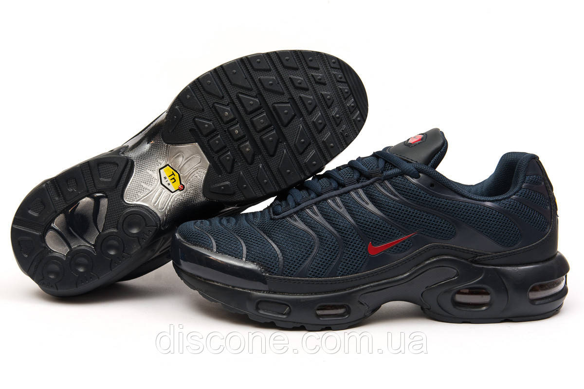 Кроссовки мужские 15042 ► Nike Tn Air, темно-синие ✅Скидка 35% ► [ 45 ]