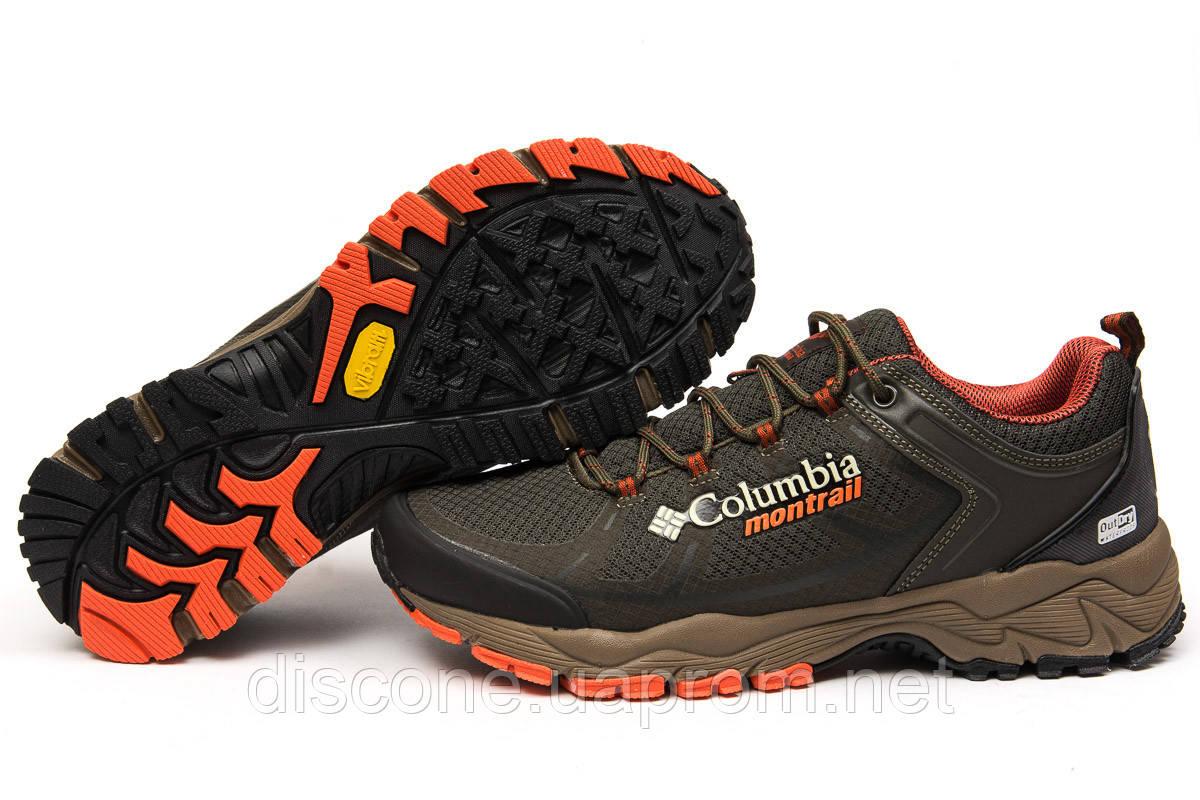 Кроссовки мужские 15055 ► Columbia Montrail, коричневые ✅Скидка % ► [ нет в наличии ]