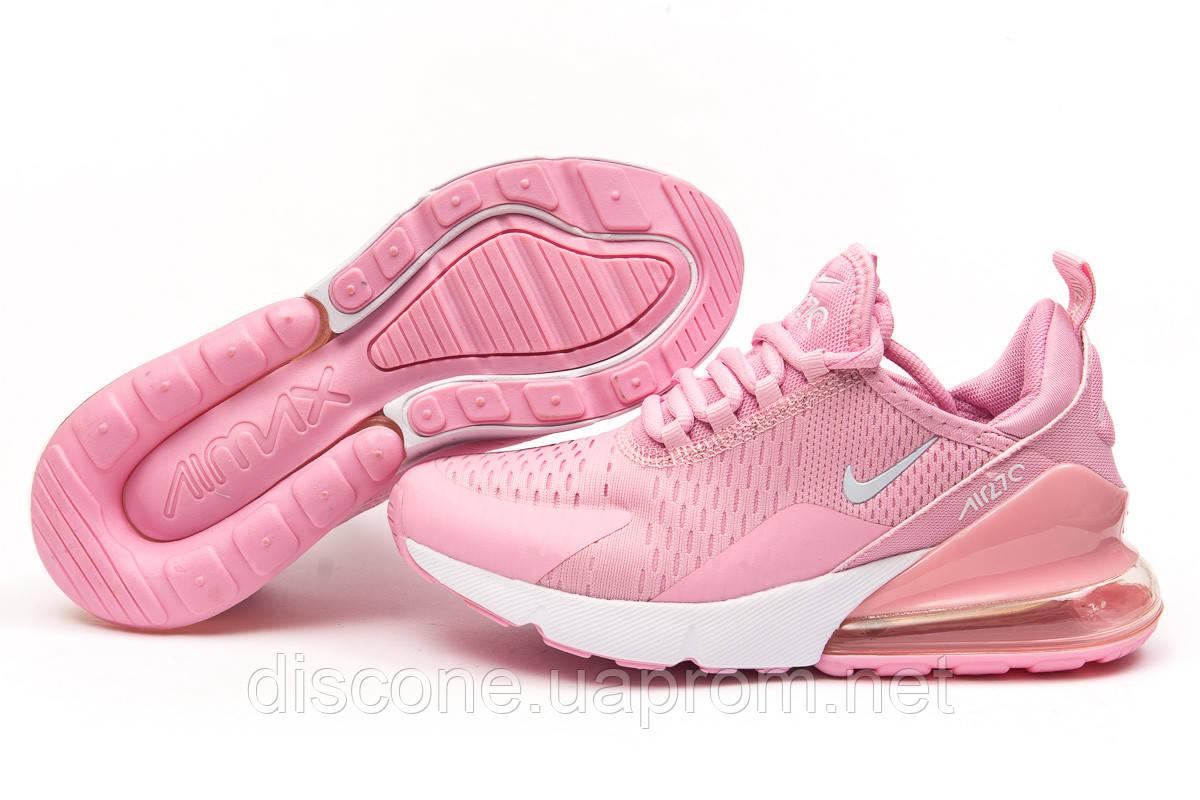 Кроссовки женские 15083 ► Nike Air 270, розовые ✅Скидка % ► [ нет в наличии ]