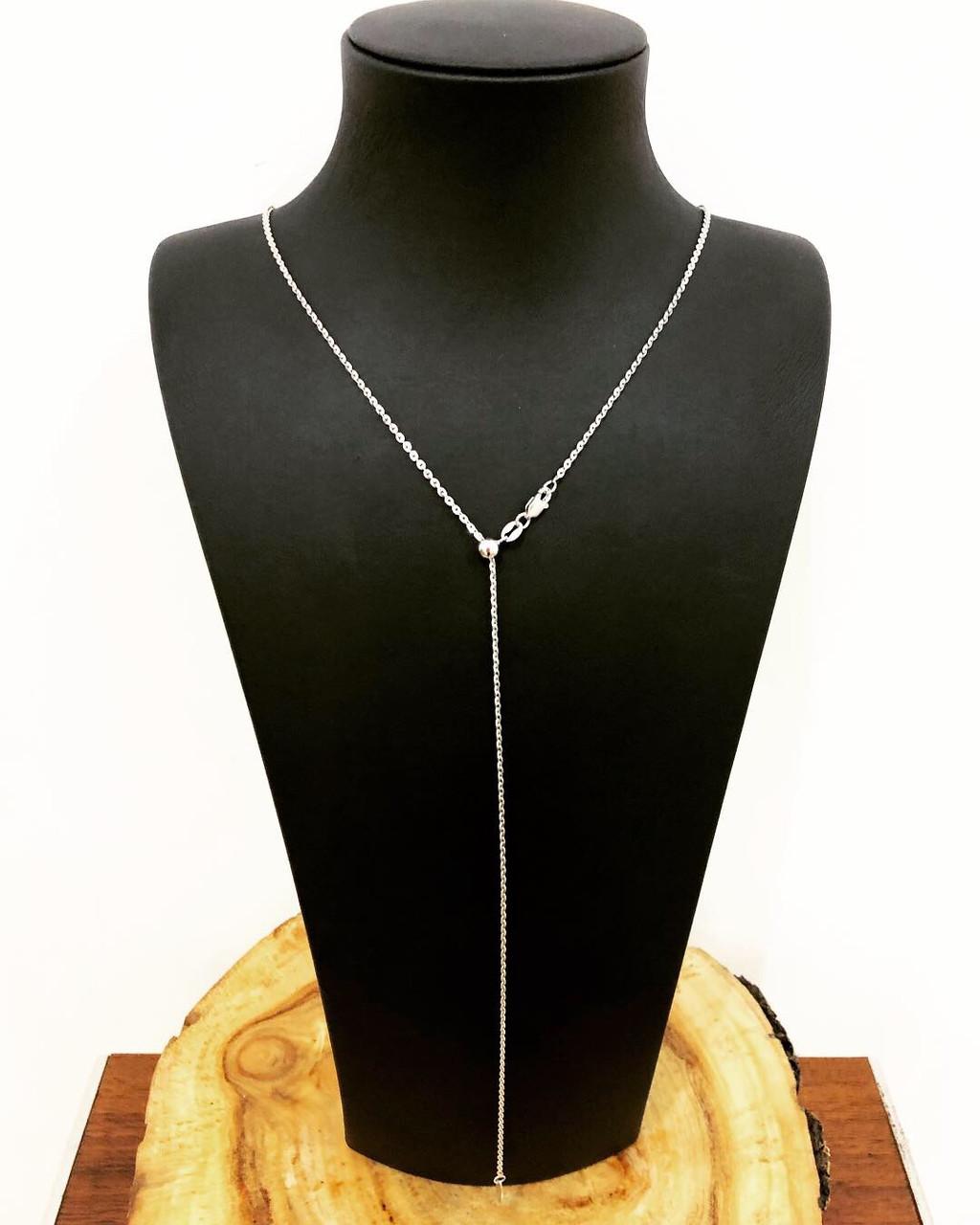 Цепь из серебра 925 My Jewels на регуляторе длины 60 см