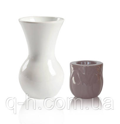 Набор ваза и подсвечник из керамики Eterna 2004-102-19