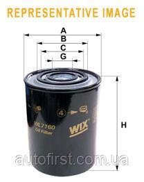 WIX WL7160 Фильтр масляный Renault