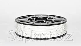 PLA пластик для 3D друку,1.75 мм, 0.75 кг 3, білий