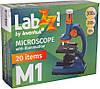 Микроскоп LEVENHUK LabZZ M1 темно-синий
