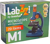 Микроскоп LEVENHUK LabZZ M1 темно-синий, фото 1